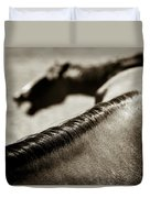 Horse Play Duvet Cover