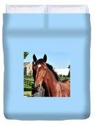 Horse Profile Duvet Cover