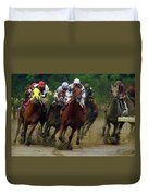 Horse Race Duvet Cover