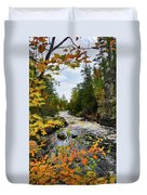 Horse Race Rapids 2 Duvet Cover