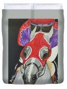 Horse Racing Duvet Cover