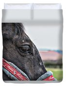 Horse Riding Horse Duvet Cover