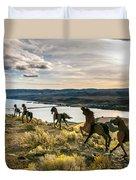 Horse Sculpture 4 Duvet Cover