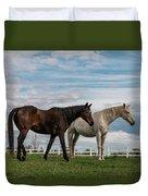 Horses #2 Duvet Cover