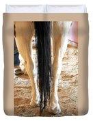 Horse Tail. Duvet Cover