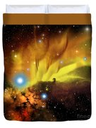 Horsehead Nebula Duvet Cover by Corey Ford