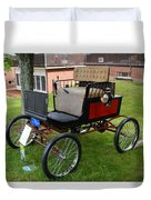 Horseless Carriage-c Duvet Cover