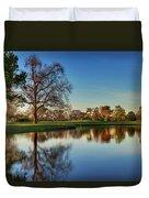 Horsepen Creek #8 Duvet Cover