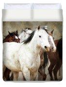 Horses-01 Duvet Cover