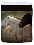 Horses-02 Duvet Cover