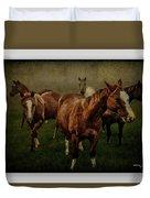Horses 31 Duvet Cover