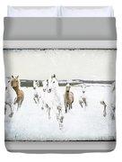 Horses 33 Duvet Cover