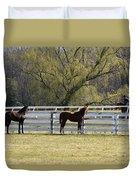Horses 363 Duvet Cover