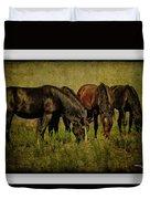 Horses 37 Duvet Cover