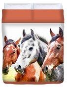 Horses - Id 16217-202757-3803 Duvet Cover