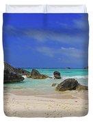 Horseshoe Beach Duvet Cover