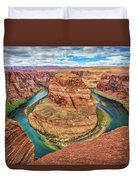 Horseshoe Bend - Colorado River - Arizona Duvet Cover
