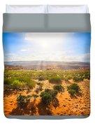 Horseshoe Bend Desert Duvet Cover