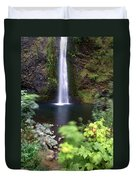 Horsetail Falls Basin Duvet Cover