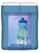 Horticouture Vogue Dress Exhibit Duvet Cover