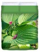 Hosta Bed Duvet Cover