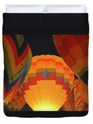 Hot Aie Balloons Duvet Cover