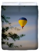 Hot Air Ballon In Oklahoma Duvet Cover