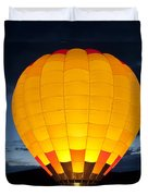 Hot Air Balloon Glow Duvet Cover