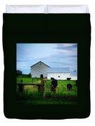 Hot Eve Night On The Farm Duvet Cover