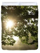 Hot Golden Mists Of Summer Duvet Cover