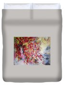 Hot Pepper Drying Duvet Cover