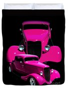 Hot Pink 33  Duvet Cover