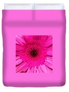 Hot Pink Gerbera Duvet Cover