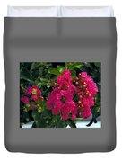 Hot Pink Jacaranda Duvet Cover