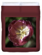 Hot Pink Tulip Center Squared Duvet Cover
