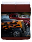 Hot Road Duvet Cover