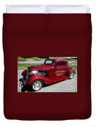 Hot Rod Chief Duvet Cover