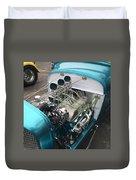 Hot Rod Engine Detail Duvet Cover