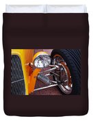 Hot Rod Headlight Duvet Cover