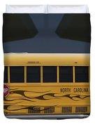 Hot Rod School Bus Duvet Cover
