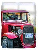 Hot Rod - Vignette Duvet Cover