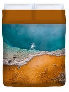 Hot Spring Detail Duvet Cover