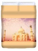 Hot Taj Mahal Duvet Cover by Nila Newsom