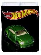 Hot Wheels 2012 Volkswagen Beetle Duvet Cover by James Sage