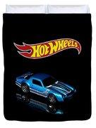Hot Wheels 67 Pontiac Firebird 400-3 Duvet Cover by James Sage