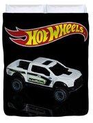 Hot Wheels Ford F-150 Raptor Duvet Cover by James Sage