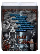 Hotel California Duvet Cover