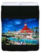 Hotel Coronado Duvet Cover