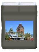 Hotel Fairmont Le Chateau Frontenac 6496 Duvet Cover
