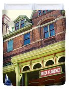 Hotel Florence Pullman National Monument Duvet Cover